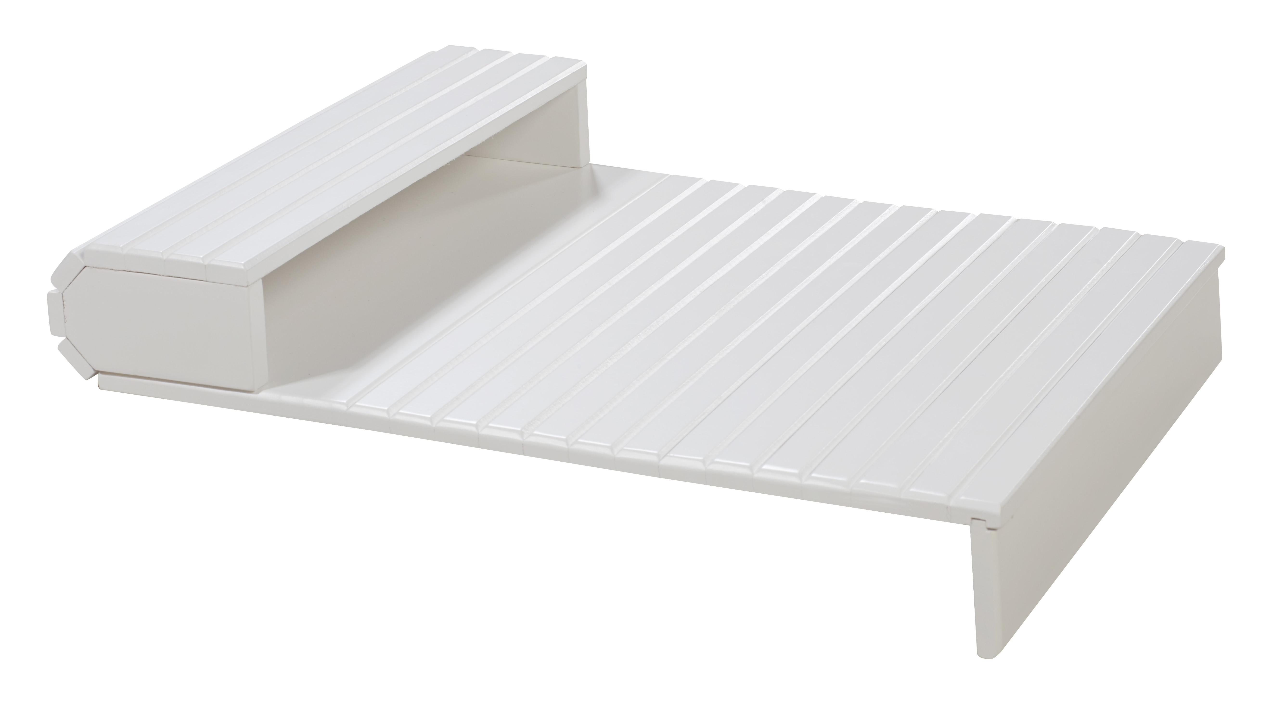 Soffitta USA Couchmaid Organizer Solid Wood Sofa/Laptop Tray White Hand Crafted at Sears.com