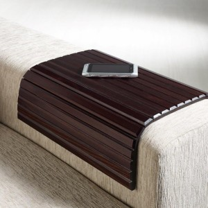 Couchmaid Classic Sofa Tray/ Lap Desk in Cappuccino.