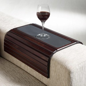 Couchmaid Table Top Sofa Tray/ Lap Desk in Cappuccino.