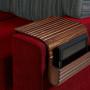 Couchmaid Organizer Sofa Tray in Walnut.