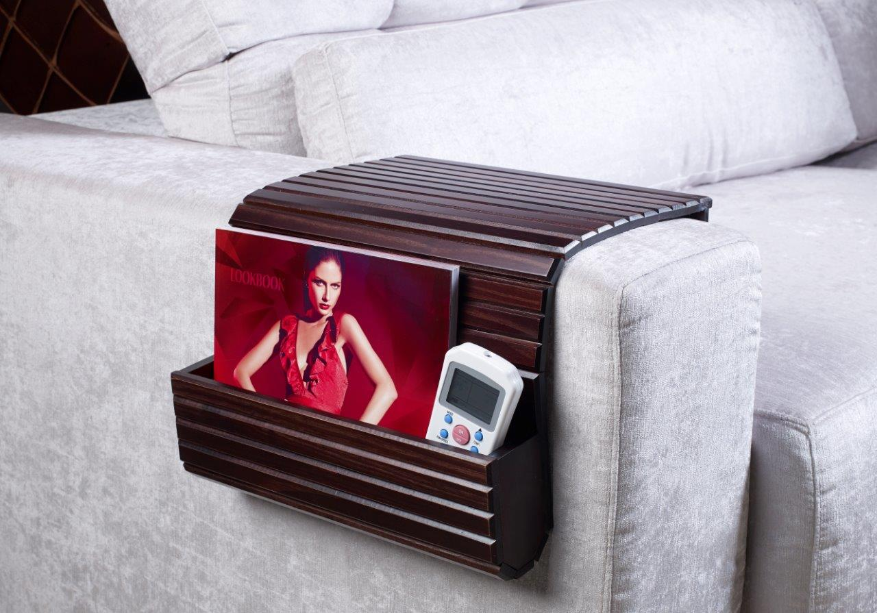 A superb organizer for those of us who have trouble for Sofa organizer
