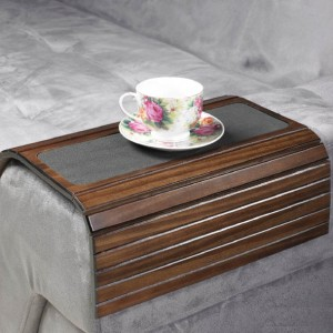 Couchmaid Table Top Sofa Tray/ Lap Desk in Walnut.